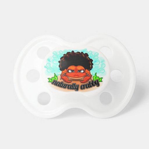 Naturally Crabby Pacifier