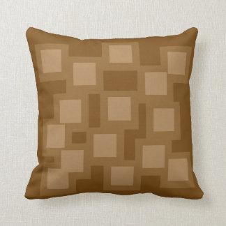 Naturally Natural Pillow/Cushion Vers 1 Squares Throw Pillow