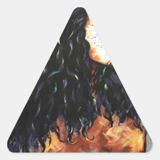 Naturally XV Triangle Sticker