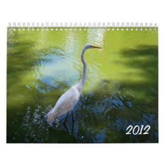 Nature 2012 wall calendars