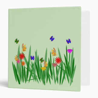 Nature 3 Ring Binder