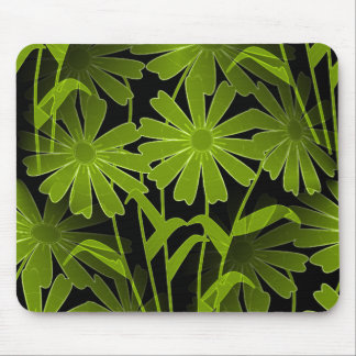 Nature-Abstact_Floral(c) Unisex-Night-Green Mouse Pad