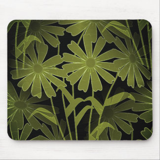 Nature-Abstact_Floral(c) Unisex-Shadow-Green Mouse Pad