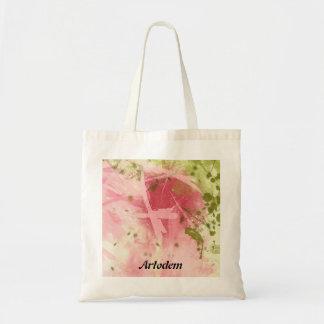 Nature abstract budget tote bag