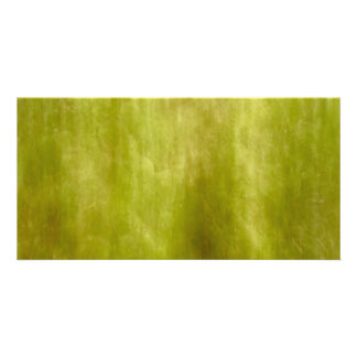 Nature abstract personalized photo card