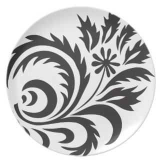 nature, abstract, trees, foliage , grung, daisy party plates