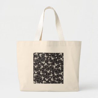 nature, abstract, trees, foliage , grung large tote bag
