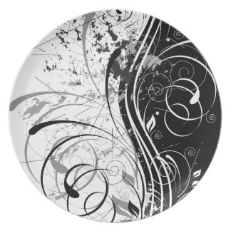nature, abstract, trees, foliage , grung party plates