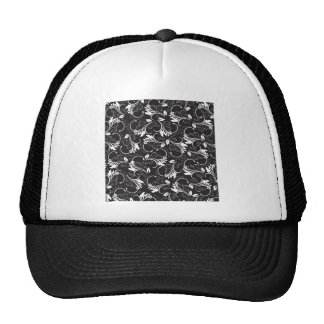 nature, abstract, trees, foliage , grung trucker hat