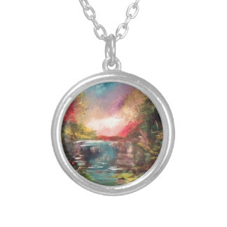 Nature Art 1 Silver Plated Necklace