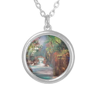 Nature Art 3.JPG Silver Plated Necklace