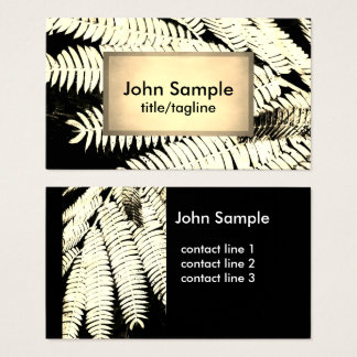 nature art business card sepia photography