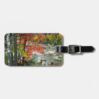 Nature Autumn Ready For Fall Travel Bag Tag