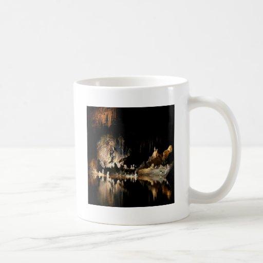 Nature Canyon Dark Cave Coffee Mugs