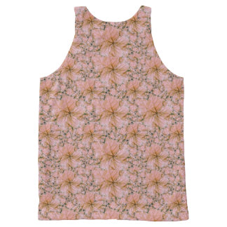 Nature Collage Print All-Over-Print Tank Top