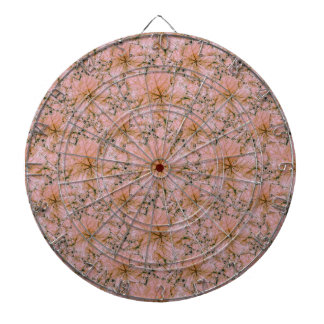 Nature Collage Print Dartboard
