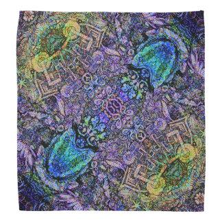 Nature Color Diagonal Pattern Bandannas