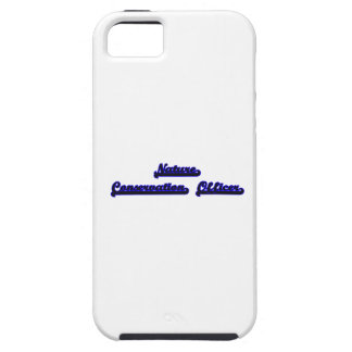 Nature Conservation Officer Classic Job Design iPhone 5 Cover