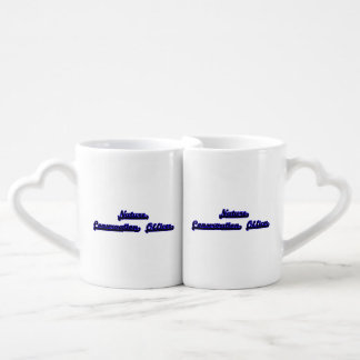 Nature Conservation Officer Classic Job Design Lovers Mug Set