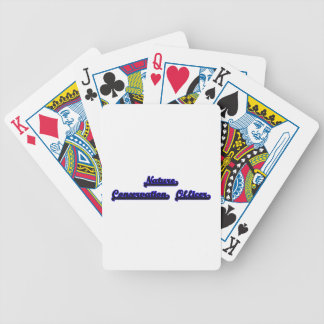 Nature Conservation Officer Classic Job Design Playing Cards