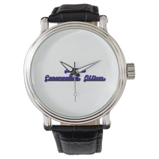 Nature Conservation Officer Classic Job Design Wristwatch