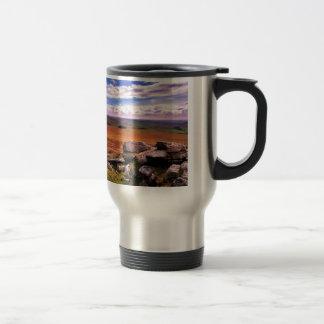 Nature Countryside Multi Coloured Life Travel Mug