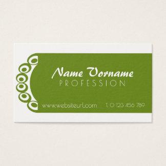 nature Design Business Card
