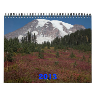 Nature East and West 2013 Wall Calendar