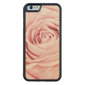 Nature Floral Photo Dainty Girly Pink Rose Maple iPhone 6 Bumper Case