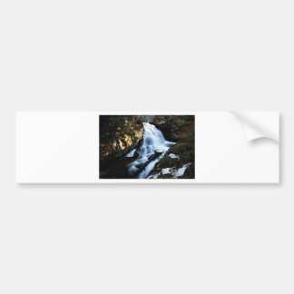 nature flows of water bumper sticker