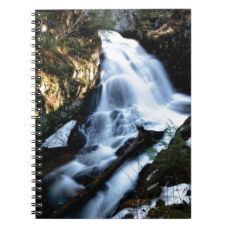 nature flows of water notebook