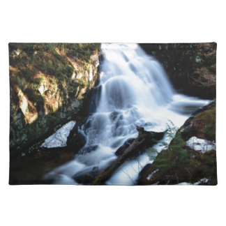 nature flows of water placemat