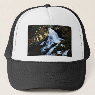 nature flows of water trucker hat