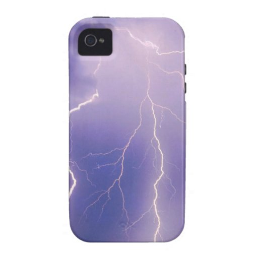 Nature Forces Chain Lightning Case-Mate iPhone 4 Cover