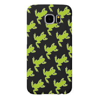 Nature Frog Pattern Samsung Galaxy S6 Cases