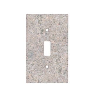Nature Geology Neutral Rock Texture Light Switch Cover