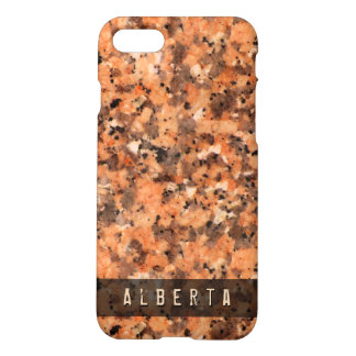 Nature Geology Rock Surface Texture Custom Name iPhone 7 Case