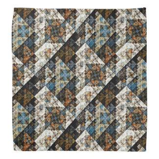 Nature Geometric Abstract Pattern Bandana