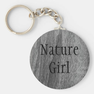 Nature Girl Key Chain