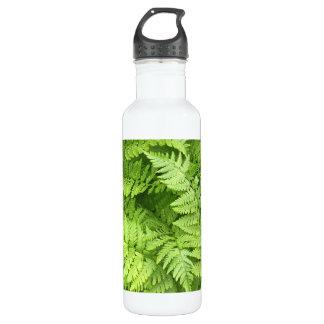 Nature Green Fern Water Botlle 710 Ml Water Bottle