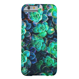 Nature Green Succulent Photo Barely There iPhone 6 Case