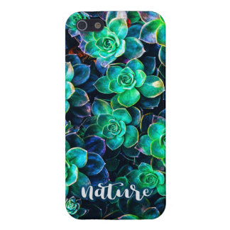 Nature Green Succulent Photo iPhone 5 Case