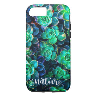 Nature Green Succulent Photo iPhone 8/7 Case