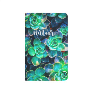 Nature Green Succulent Photo Journal