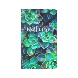 Nature Green Succulent Photo Large Moleskine Notebook