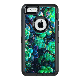 Nature Green Succulent Photo OtterBox Defender iPhone Case