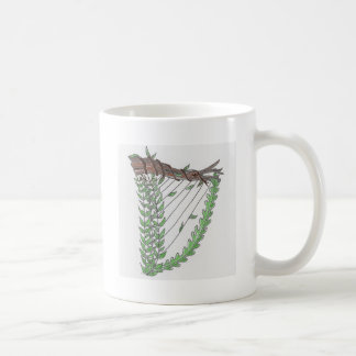 nature harp coffee mug