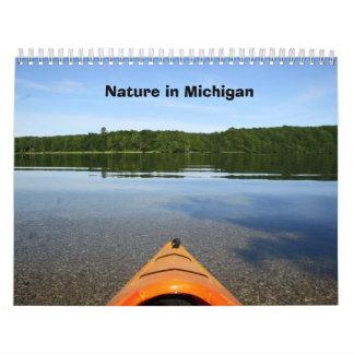 Nature in Michigan Calendar