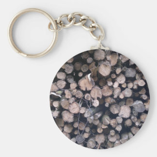 Nature in the countryside basic round button keychain