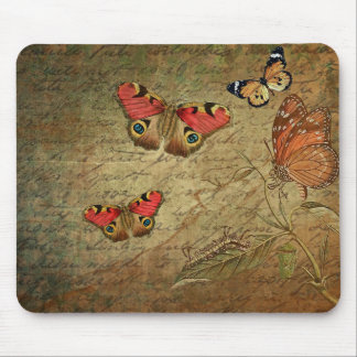 Nature Inspired Moths Mousepad
